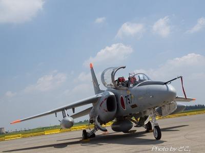 日本の戦闘機はミニマム。
