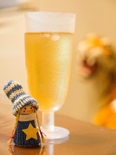 シャンパン風ジンジャーエール。