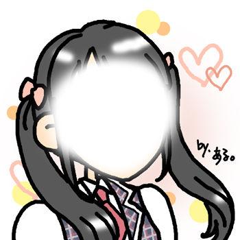 S様ご依頼の似顔絵 キャラクター風