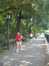 セントラルパーク 朝のマラソン