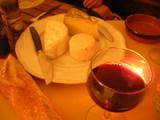 le vin et  les fromages