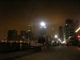 シカゴ夜の摩天楼