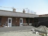裏の倉庫&屋上