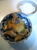 japanese mother`s dish(fish & radish)