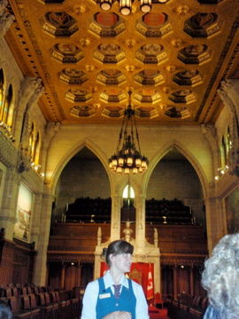 オタワ国会議事堂ツアー