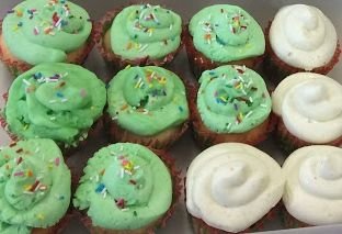 cupcakes for christmas party