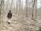 メープル小屋の周りを御散歩