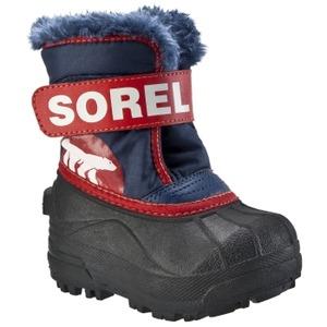 Sorel toddler's snow commander boots, blue