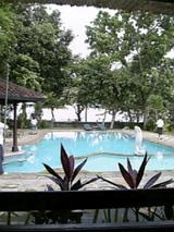 Lovinaのホテルのプール