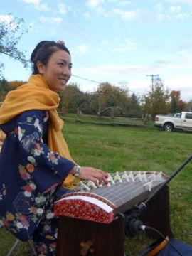 YUKIちゃんのお琴演奏