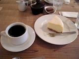 ベークドチーズケーキでお茶