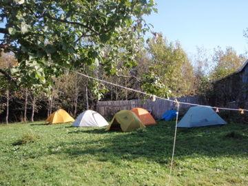 皆のテント