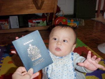 Jan20, 2012 カナダのパスポートゲット!