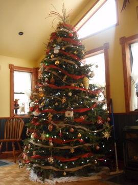 巨大クリスマスツリー