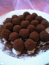 Finish! Truffe chocolate!