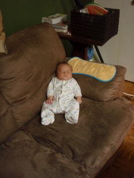 8月31日お気に入りのソファの角