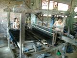 イカット機織工場