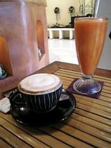 ウブドのカフェ