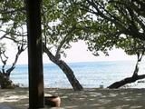 Taman Sali Bali Cottageのプライベートビーチ