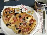 ペルセでの朝食