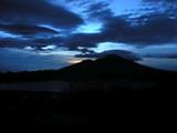 バトゥール山からの夜明け2