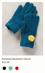 anthropologie gloves 32$