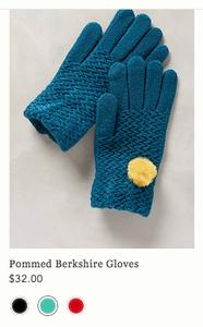 anthropologie gloves 32$