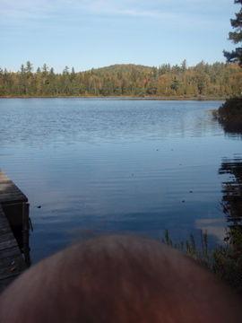 大河の頭と湖