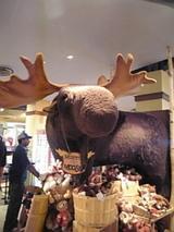ナイアガラのお土産屋さん、ムース