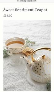 anthropologie teapot