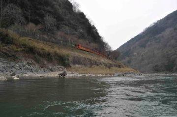 Apr10,2012 嵐山 保津川下り