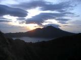 バトゥール山からの夜明け5