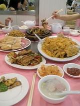 中華、食べきれません