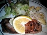 私のバリでの最後の夕食