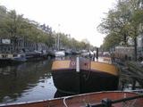 アムステルダムの運河2