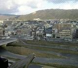 The vie of Kyoto from another cafe