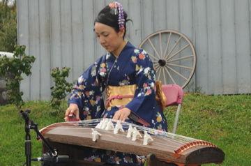 YUKIちゃんのお琴