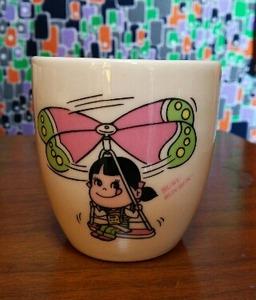 ぺこちゃんプリンカップ