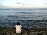 サヌールの海&JM