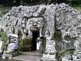 ゴア・ガジャ洞窟入口