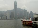 フェリーで香港島へ