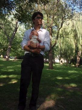 8月8日パパと公園