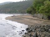Amed黒砂ビーチ散歩