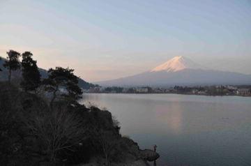 Apr9,2012 早朝の河口湖