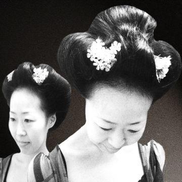 日本髪風セット2