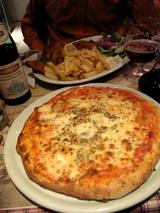 ブリュッセルでピザ