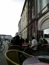 Gantのカフェで休憩