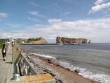 お昼のペルセ岩