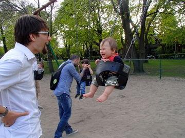 初ブランコ may12, 2012