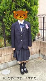 中学入学式後